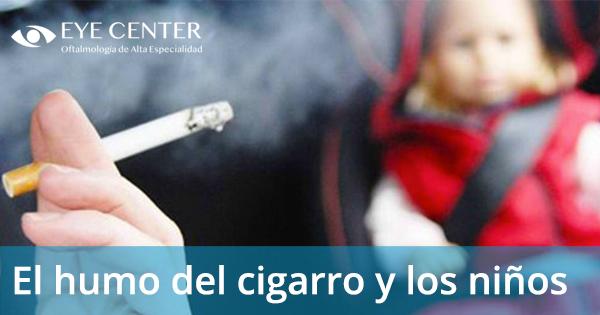 El humo del cigarro y los niños